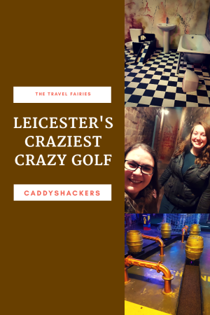 Review of Caddyshackers, Leicester's newest adult only crazy golf bar. #crazygolf #leicester #nightsout #visitengland