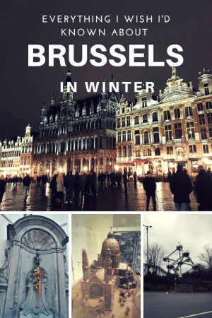 3 days in Brussels in winter Itinerary. Everything you need to know about visiting Brussels in Winter. #europe #belgium #brussels #wintertravel