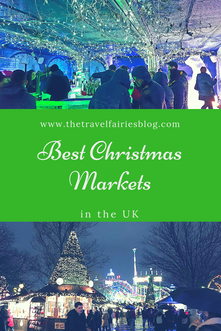 List of the best Christmas Markets in the UK, Europe. Travel guide to the best Christmas markets in England #christmas #christmasmarkets #uktravel #europe