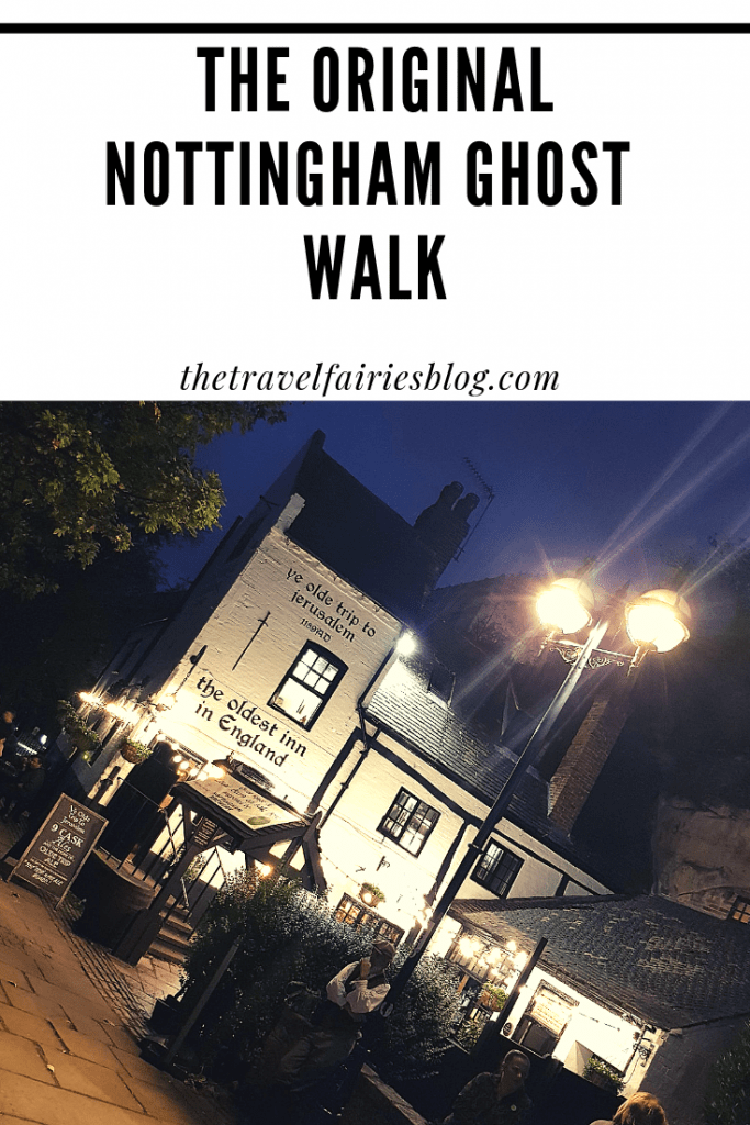 Review of the Original Nottingham Ghost Walk, the perfect Halloween attraction | Things to do in Nottingham, England | Visit haunted places like the castle, caves and pubs whilst listening to stories of the cities dark and gruesome history | This ghost tour cannot be missed next time you travel to Nottingham #europetravel #darktourism #nottingham #ghosttour