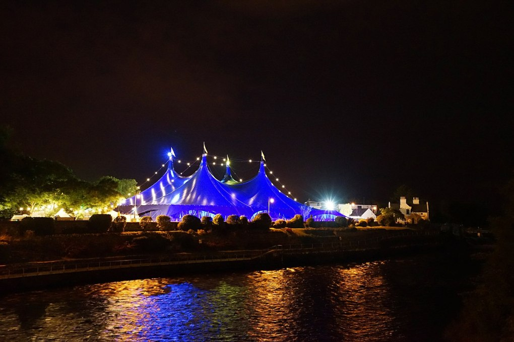 Countries in need: The big top at the Galway Arts Festival 2014