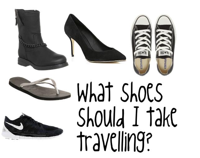 sko til rejsen