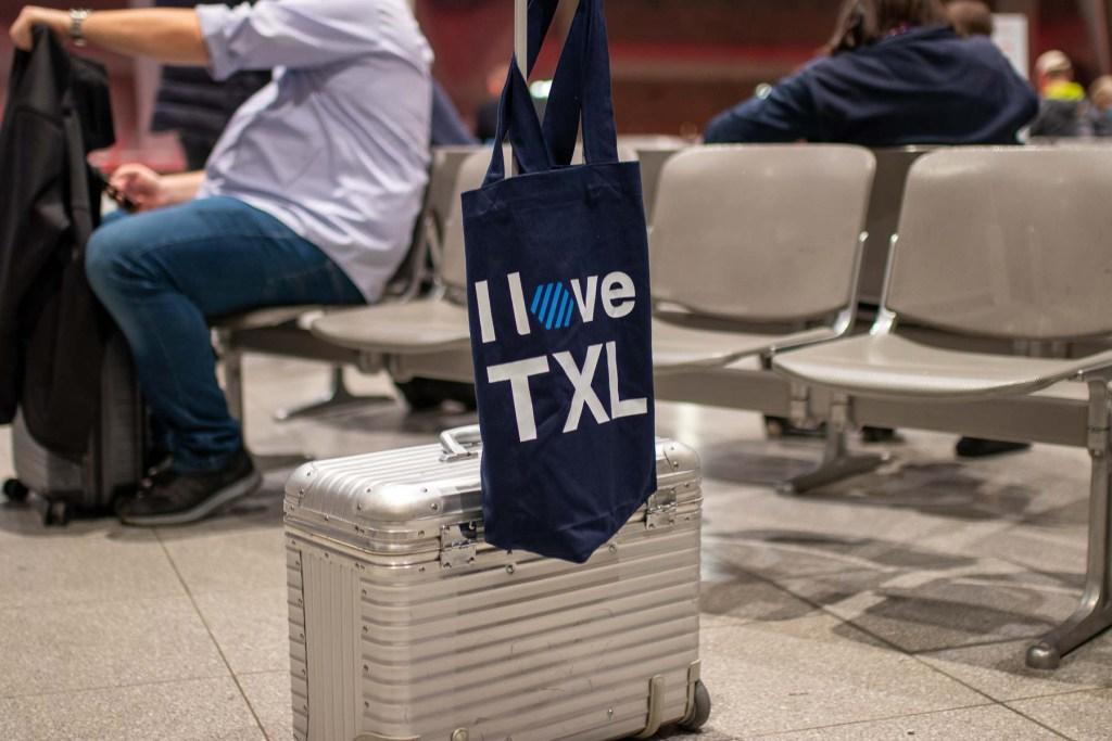 I love TXL Goodie Bag The Travel Happiness