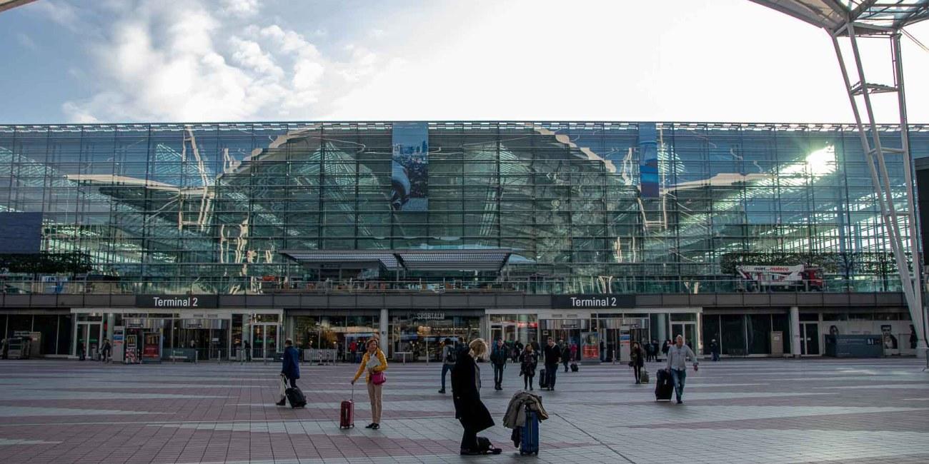 Air Canada Check-in FLughafen München