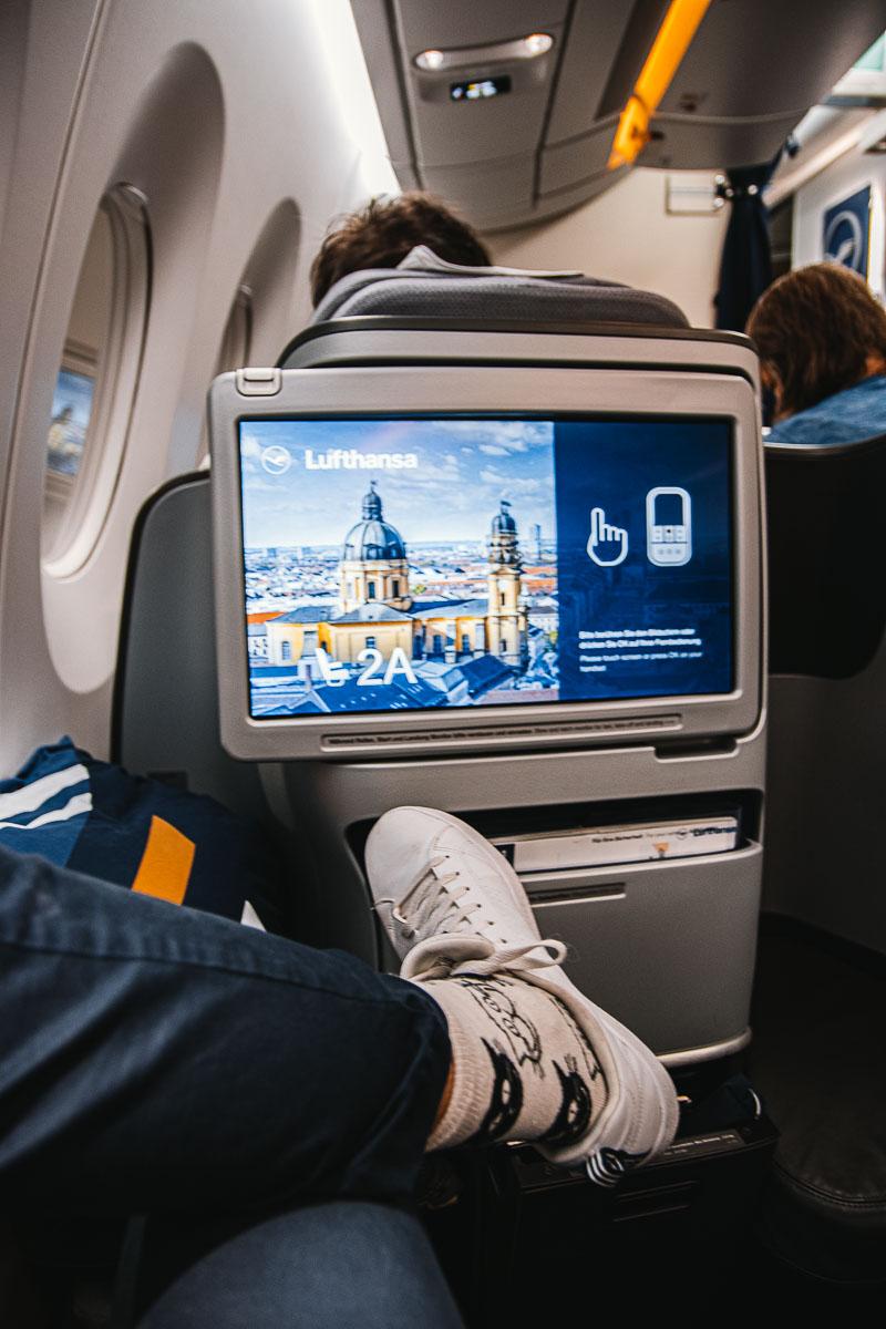 Business Class im Lufthansa Airbus A350-2