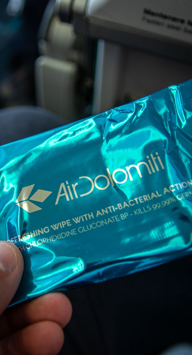 Fliegen während Corona Boarding Air Dolomiti_-3