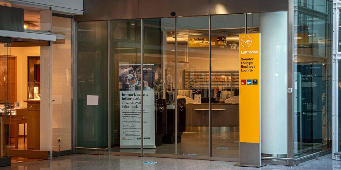 Fliegen während Corona Flughafen München Lufthansa Lounge-2