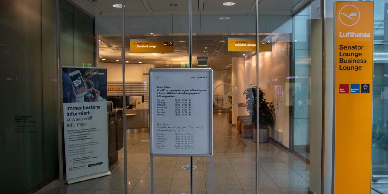 Fliegen während Corona mit Lufthansa Flughafen München-5
