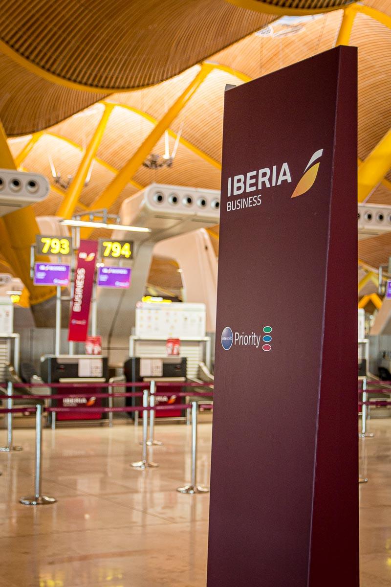 Iberia Express Business Class Flughafen Madrid-2