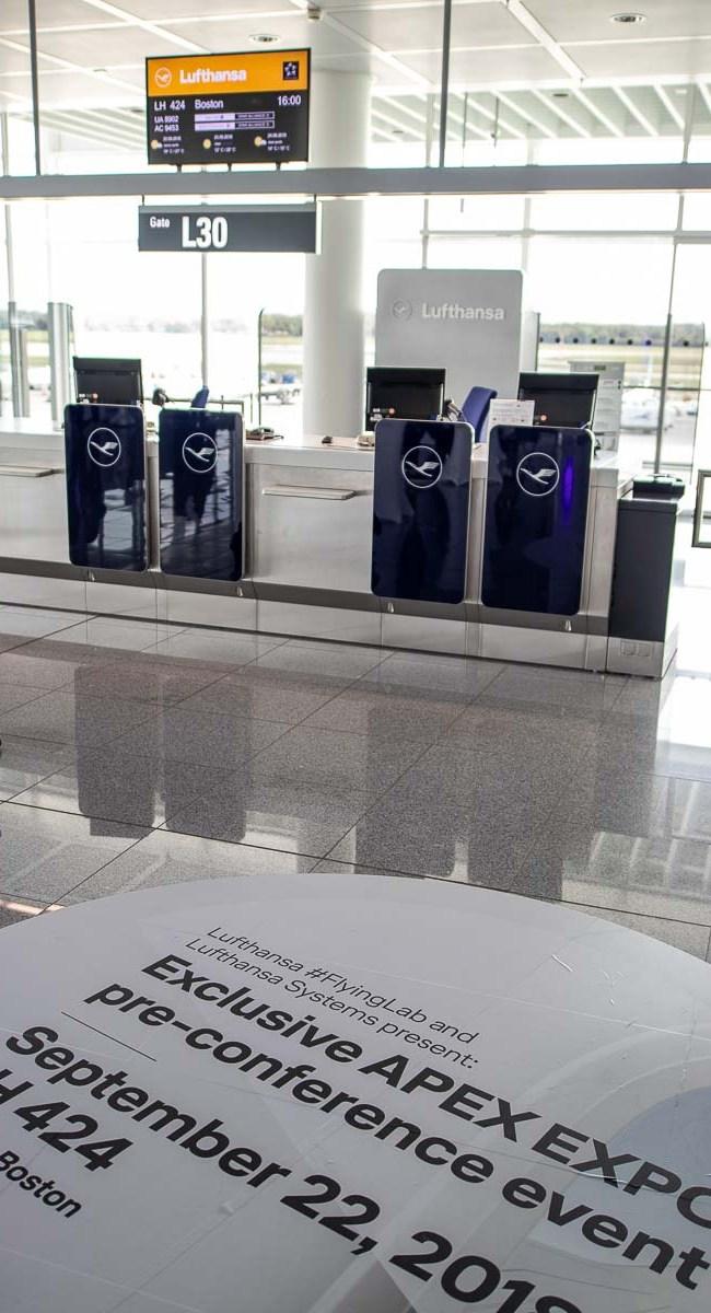Lufthansa FlyingLab APEX Boston