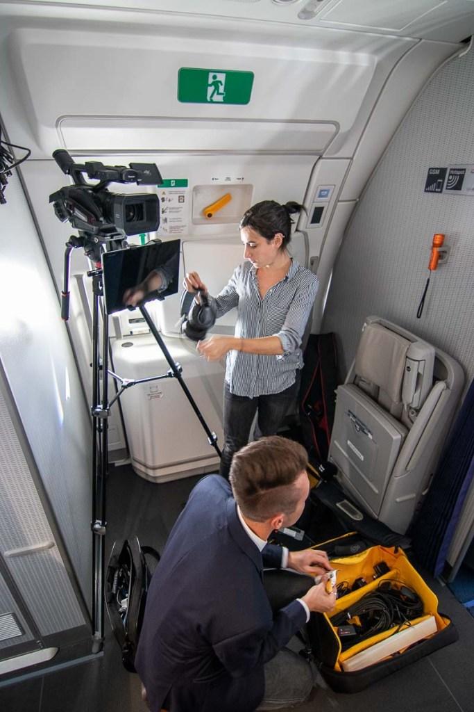 Lufthansa FlyingLab APEX Expo Boston