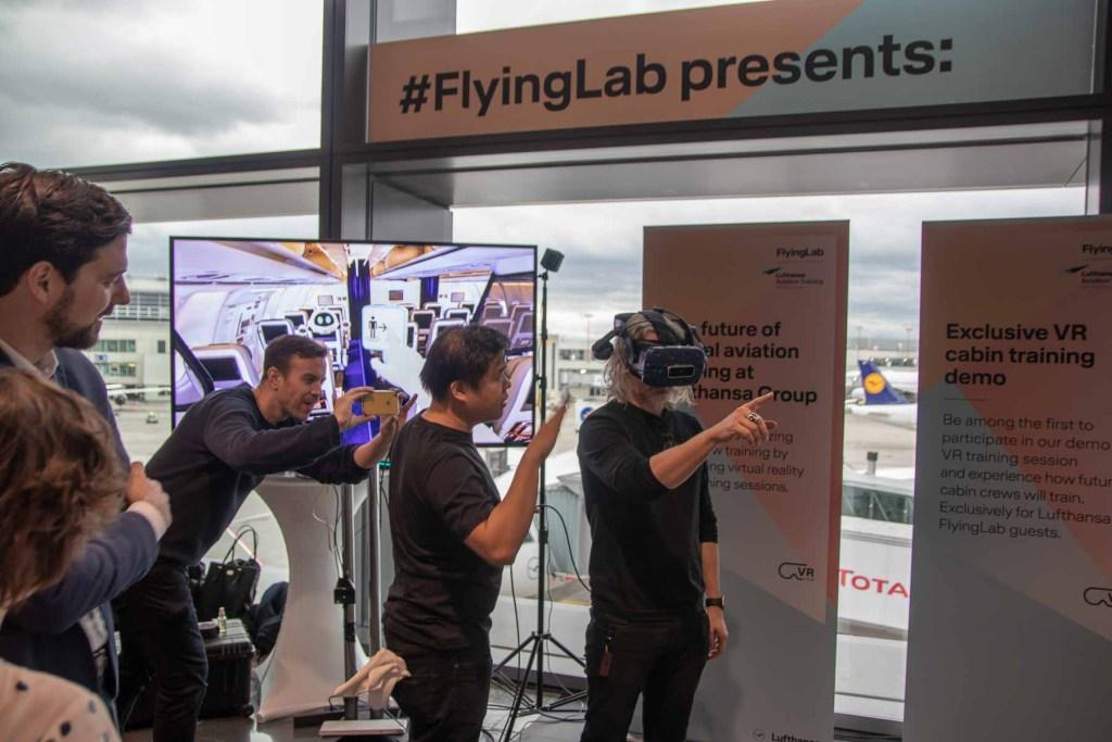 Lufthansa FlyingLab SXSW Austin Gate Event Lufthansa VR Experience