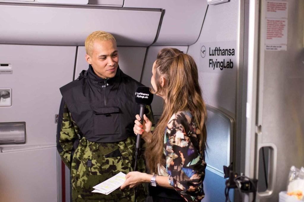 Lufthansa FlyingLab SXSW Kelvyn Colt Johanna Leuschen Interview