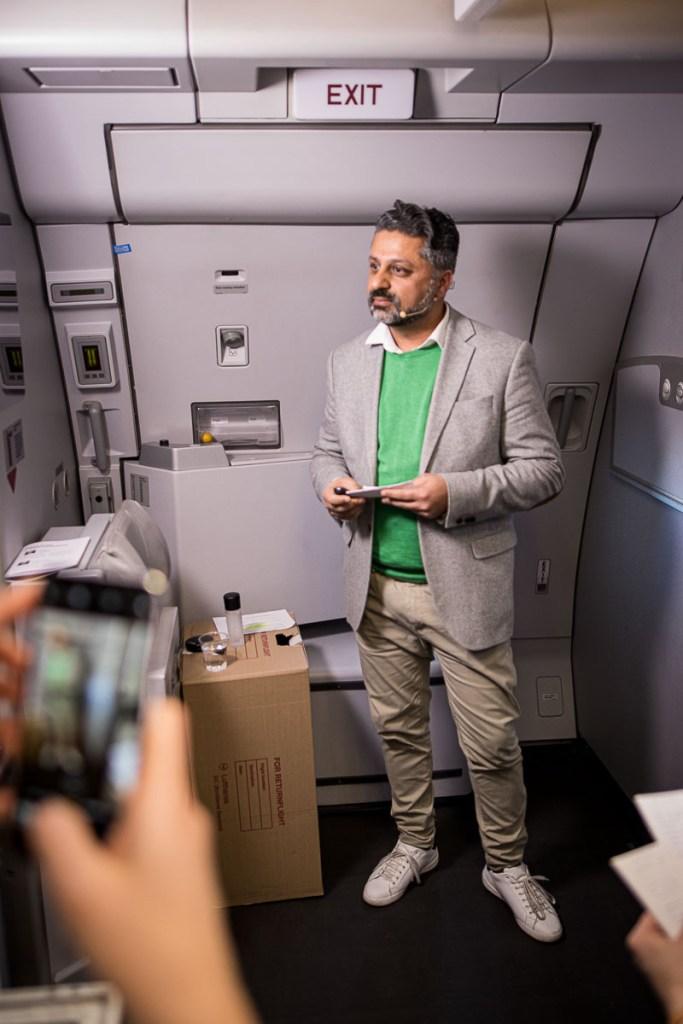 Lufthansa FlyingLab SXSW Kunal Sachdeva Microsoft