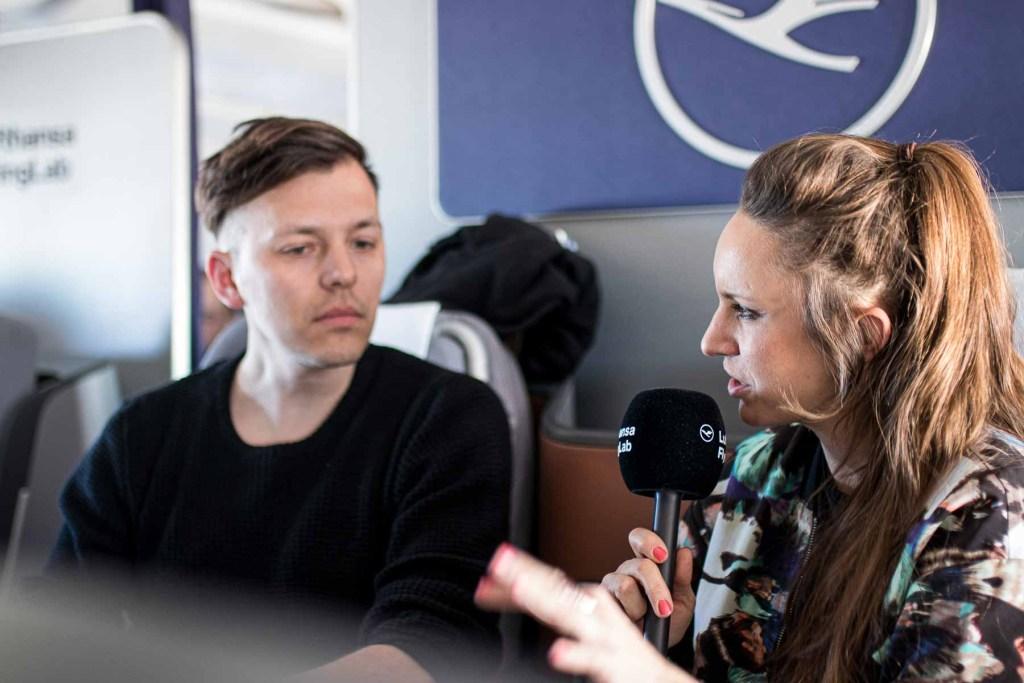 Lufthansa FlyingLab SXSW Moritz Simon Geist Interview