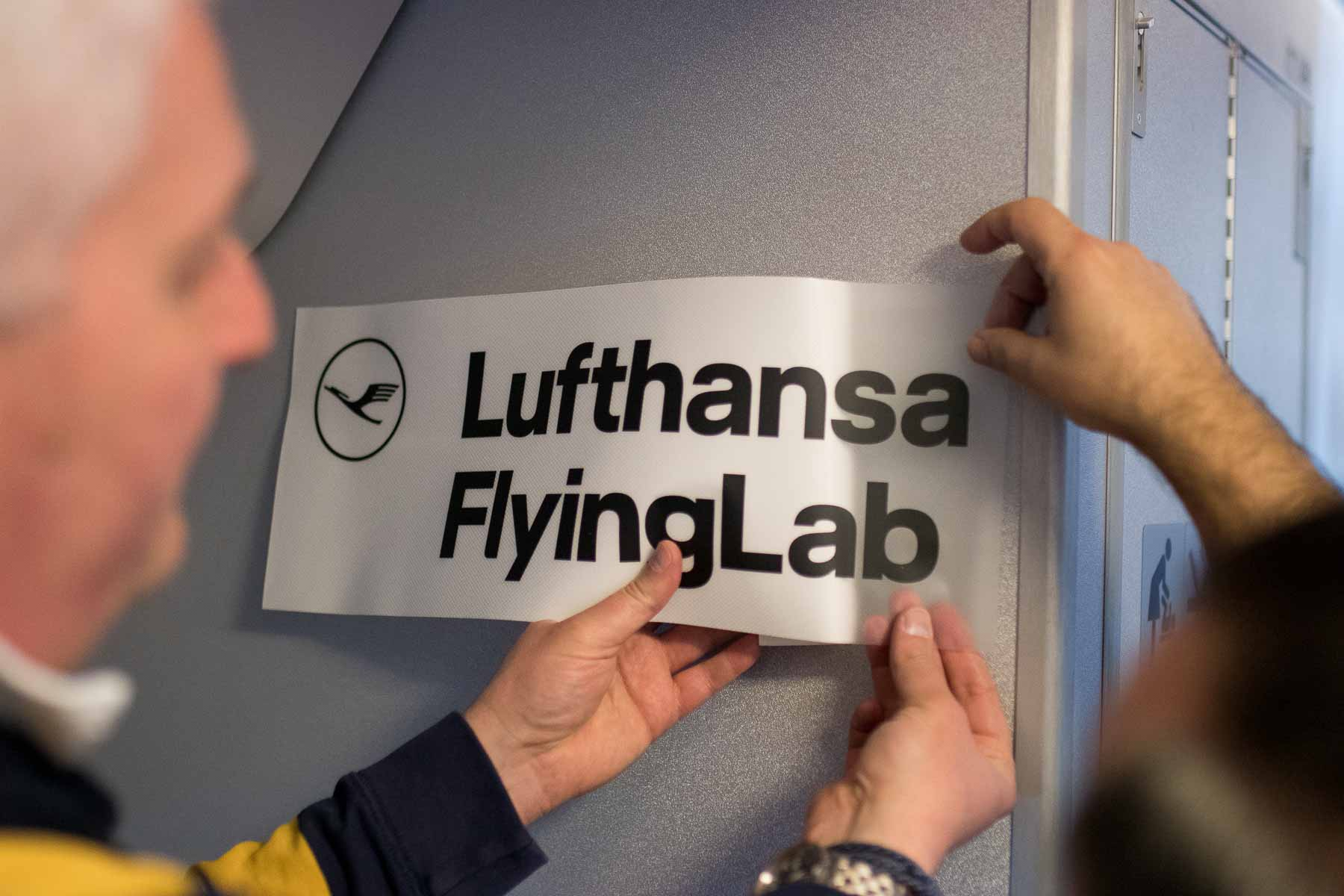 Lufthansa FlyingLab SXSW