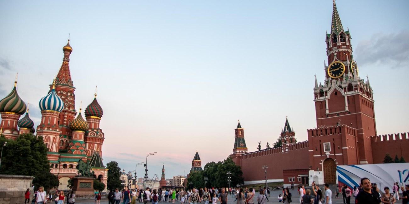 Moskau die schönestem Sehenswürdigkeiten mit Kind Roter Platz Kreml Gum-25