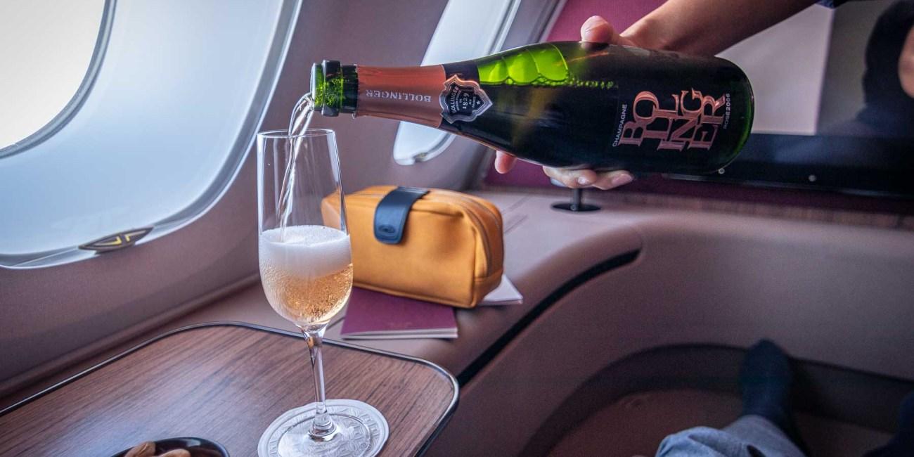 Qatar Airways A380 First Class Annehmlichkeiten-5