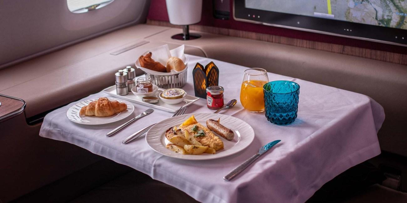 Qatar Airways A380 First Class Service