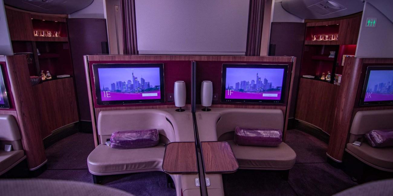 Qatar Airways A380 First Class Sitz-3