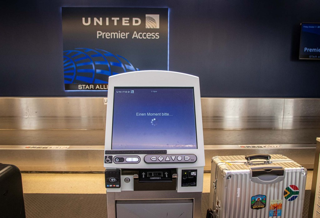 United Airlines Check-in Newark Airport Terminal C