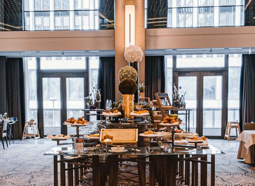 Waldorf Astoria Berlin Frühstück