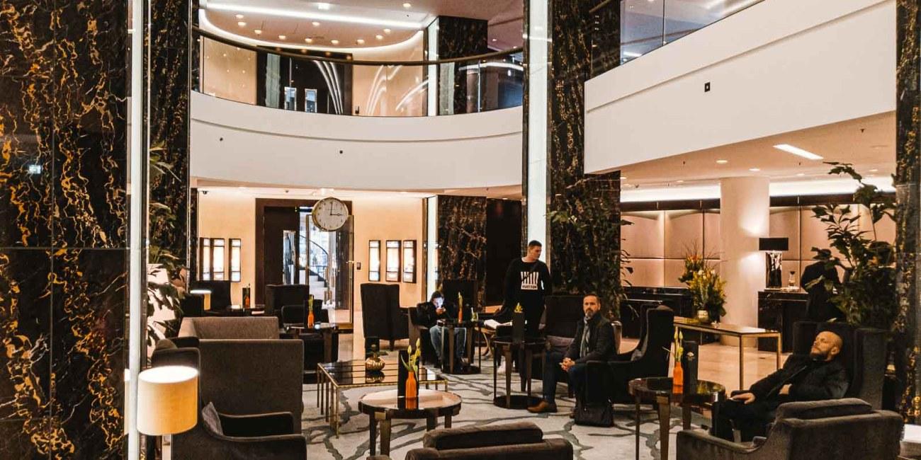 Waldorf Astoria Berlin Lobby