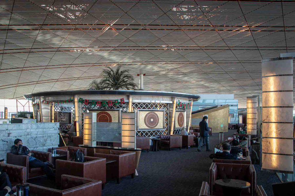 Air China First Class Lounge Tee Pavillon