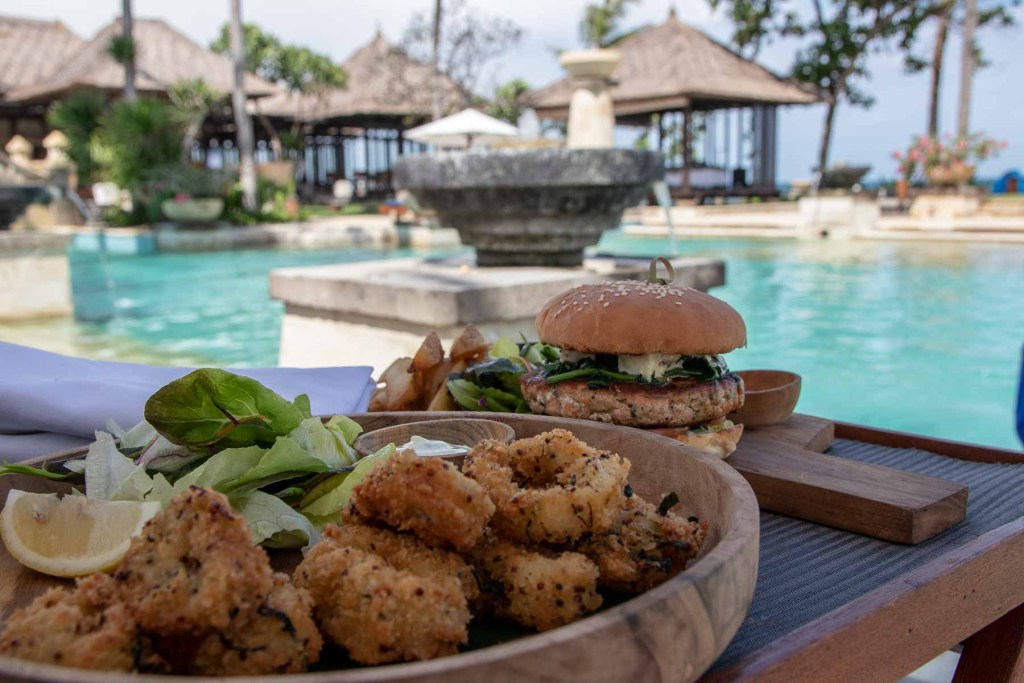 Conrad Bali Resort Annehmlichkeiten Pool-3