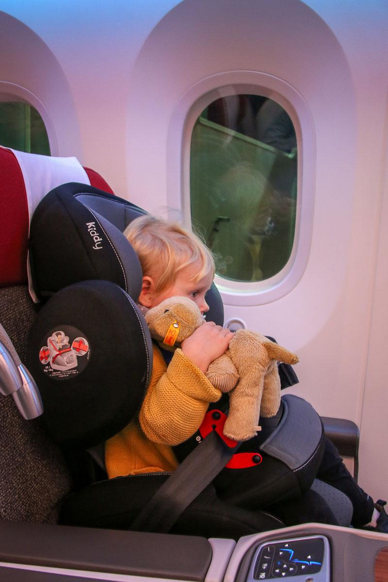 Fliegen mit Kindersitz-3