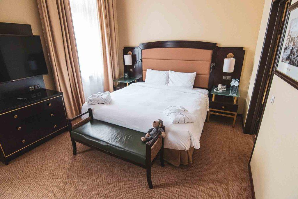 Hilton Moskau Leningradskaya Zimmer-5