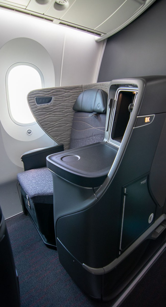 Turkish Airlines Boeing 787 Business Class Kabine-3