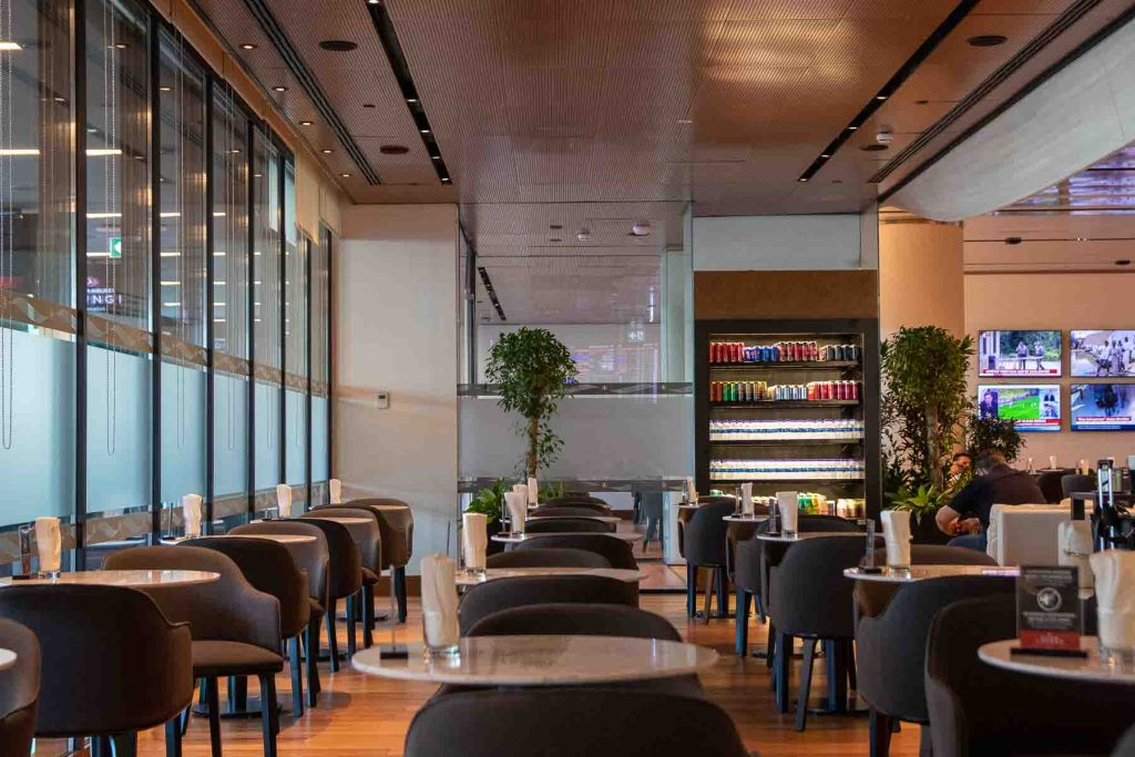 Turkish Airlines Domestic Lounge Istanbul-5
