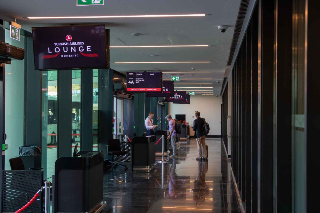 Turkish Airlines Domestic Lounge Istanbul-6