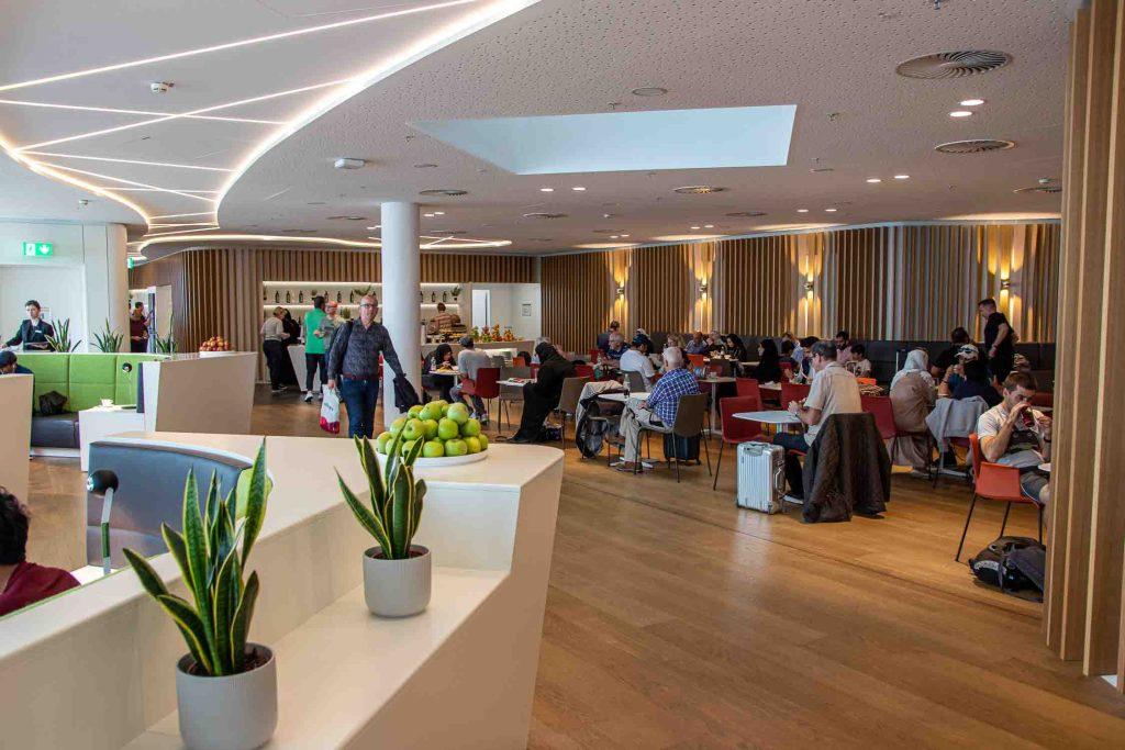 Flughafen München Airport Lounge World Erfahrungsbericht Priority Pass Lounge Flughafen München-2