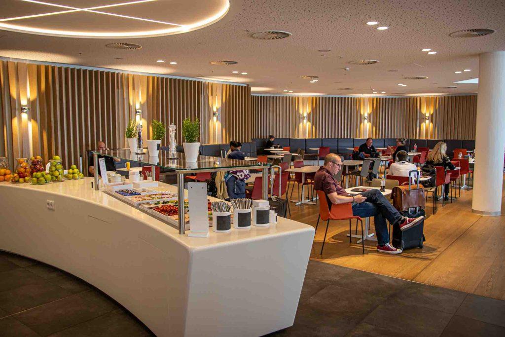 Flughafen München Airport Lounge World Erfahrungsbericht Priority Pass Lounge Flughafen München-6