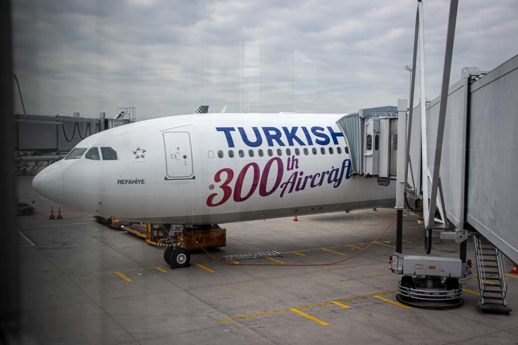 Turkish Airlines A330 TC-LNC 300 th aircraft Business Class Review