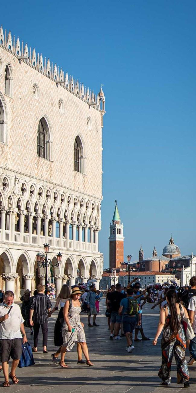 Venedig Sehenswürdigkeiten Dogenpalast Markusplatz Palazzo Ducale