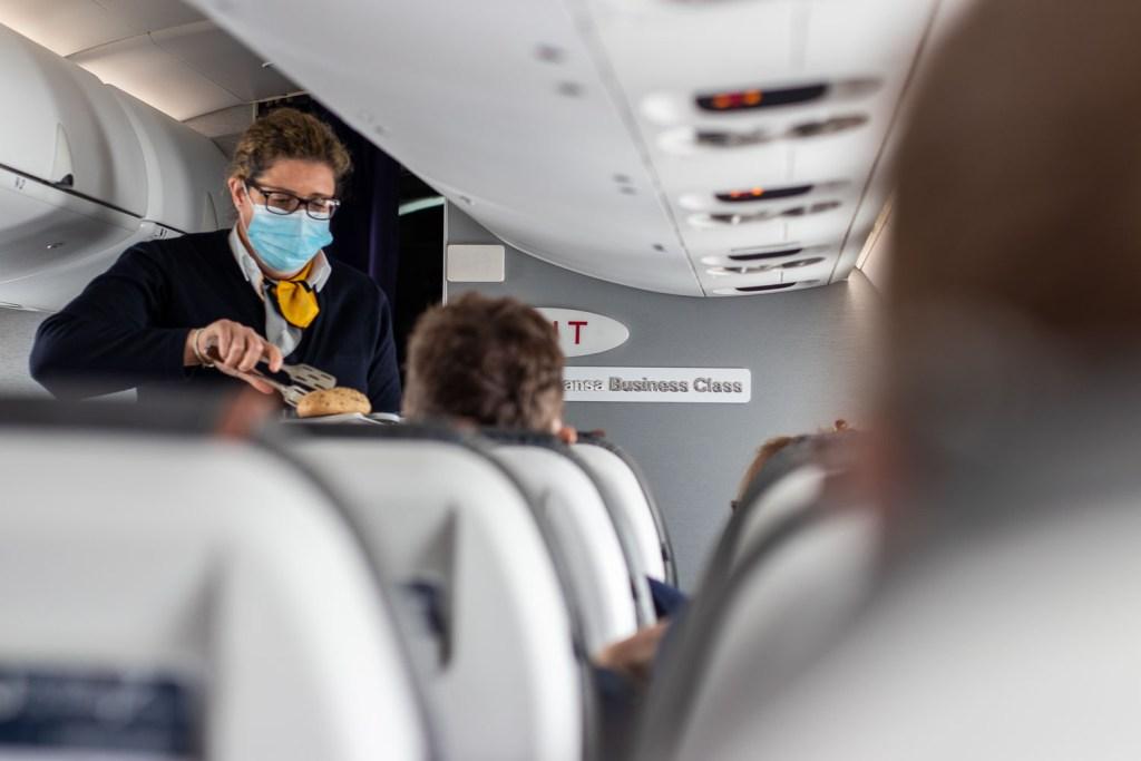 Lufthansa CRJ Business Class Service Kurzstrecke