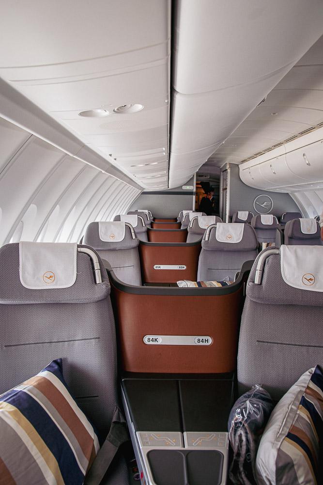 Boeing 747 nach Mallorca Business Class