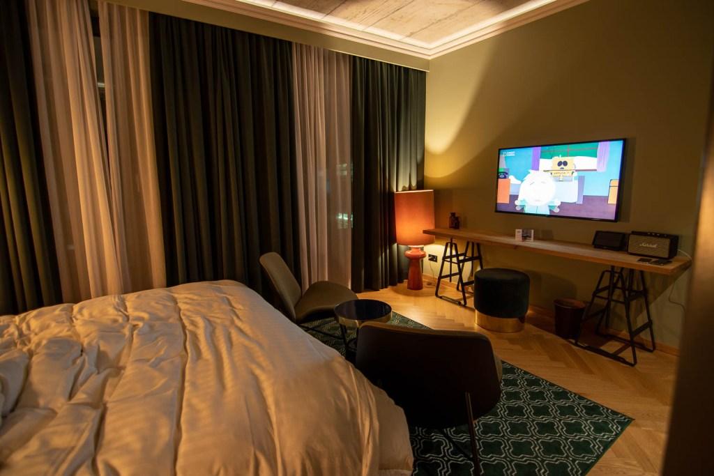 Gekko House Frankfurt Hotel Balkon Zimmer-2