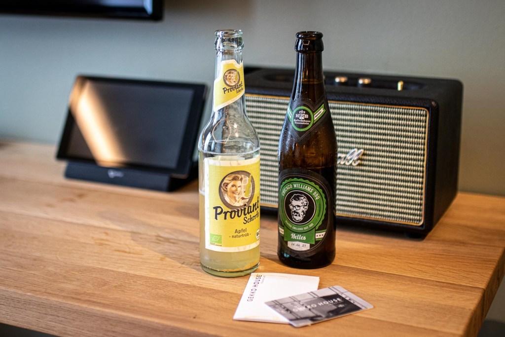 Gekko House Frankfurt Hotel Welcome Drink