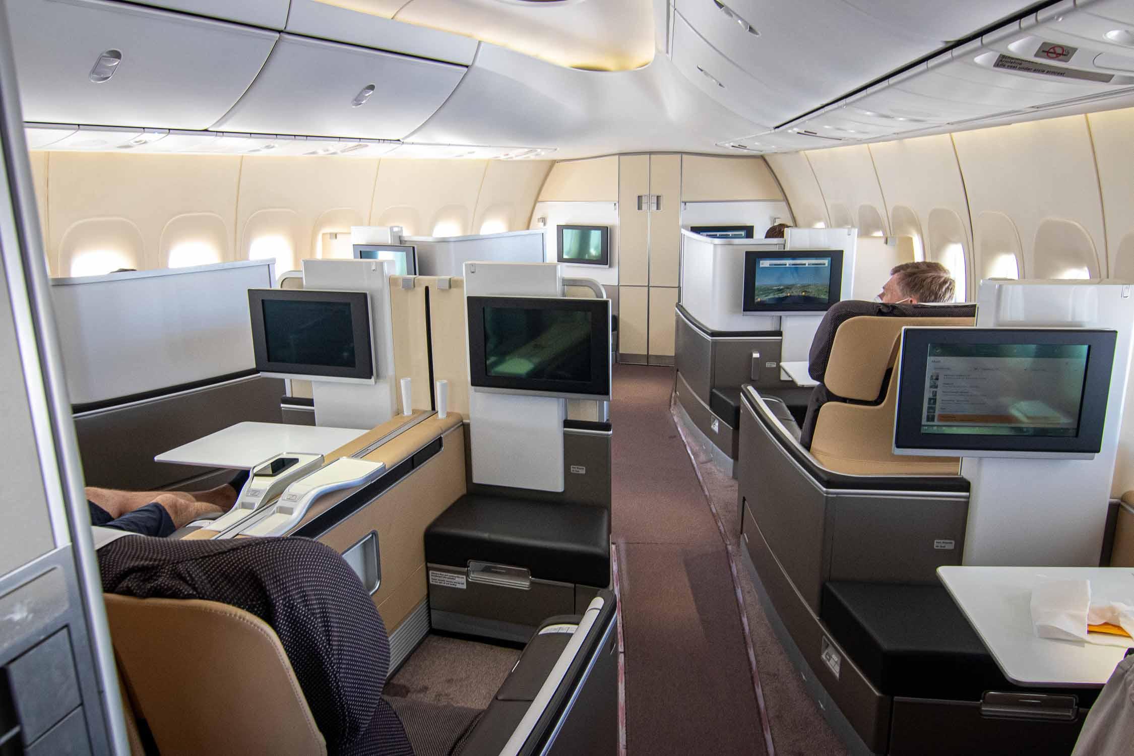 Lufthansa Boeing 747-8 First Class
