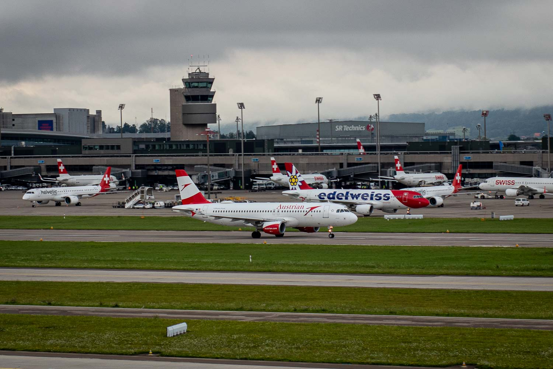 Austrian Airbus A320 OE-LBW