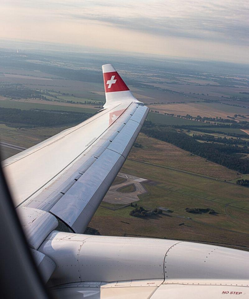 Swiss Airbus A220 Business Class
