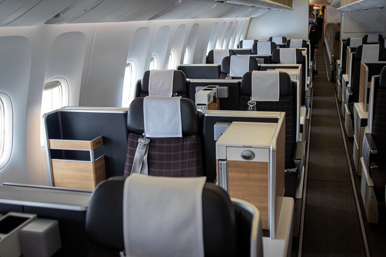 Swiss Boeing 777 Business Class Palma