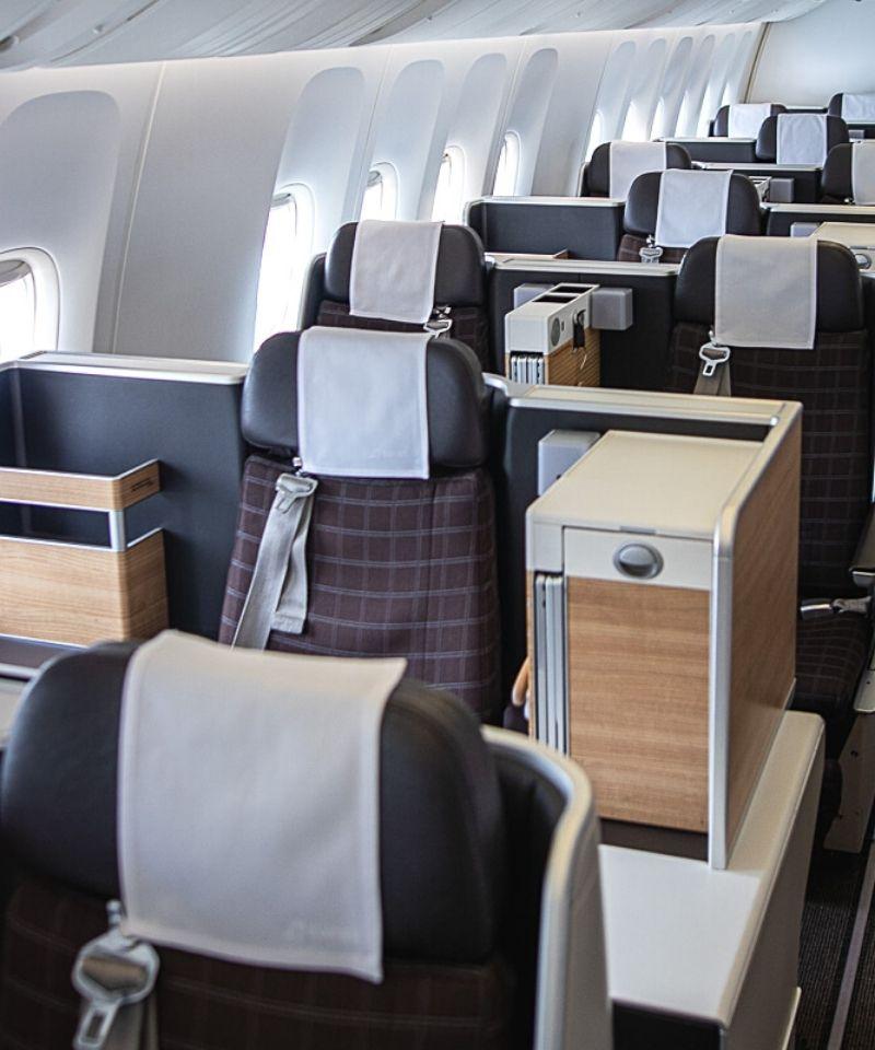 Swiss Boeing 777 Business Class