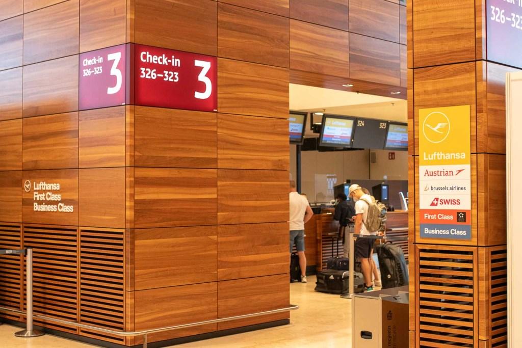Swiss Check-in Flughafen BER
