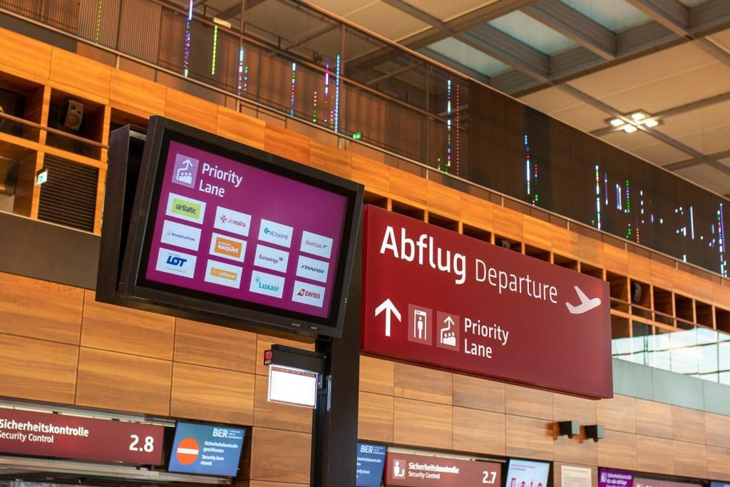 Swiss Fast Lane Flughafen BER
