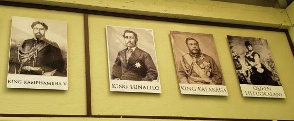 Hawaiian Kings and Queen